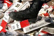کشف محموله سیگار قاچاق در قزوین