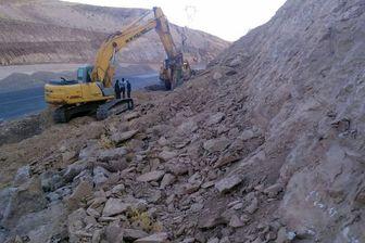 راهسازی روی میراث ملی؛بخشی ازسایت فسیلهای ۷ میلیون ساله تخریب شد