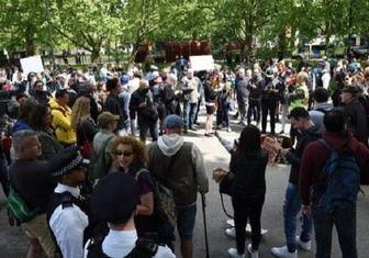 تظاهرات ضد نژادپرستی مردم انگلیس