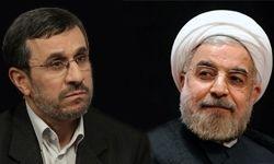 پایان دیدار یک ساعته احمدینژاد با حسن روحانی