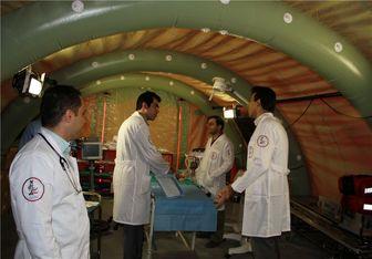 افتتاح بیمارستان صحرایی ٧٢ تختخوابی منا از هشتم ذی الحجه