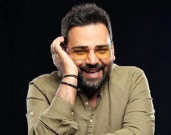 بی قراری های «احسان علیخانی» در جشن تولد 38 سالگی اش/ عکس