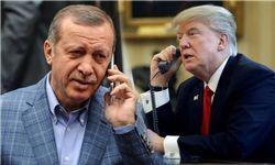 موضوع گفتوگو تلفنی ترامپ و اردوغان