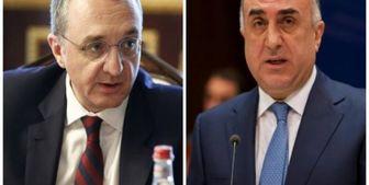 دیدار وزرای خارجه آذربایجان و ارمنستان در مسکو