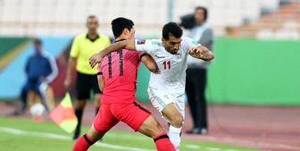 نمایی دیدنی از بازی ایران و کره!
