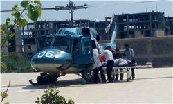 انجام 14 مأموریت اورژانس هوایی استان بوشهر