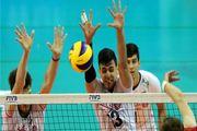 پیروزی والیبال ایران مقابل استرالیا