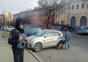 دفتر سازمان اطلاعات روسیه هدف حمله داعش