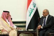 وزیر سعودی به عراق سفر کرد