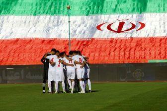 تمرین تیم ملی ایران در نبود بازیکنان اصلی