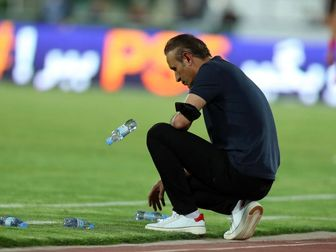 تصاویر جنجالیترین حرکت گل محمدی پس از پیروزی مقابل آلومینیوم/ یحیی شفافسازی کرد