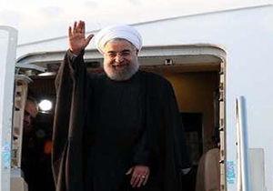 رئیس جمهوری مشهد را به مقصد تهران ترک کرد
