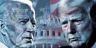به سر و کله زدن جو بایدن و ترامپ
