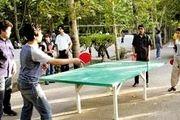 زیرساخت های موجود در حوزه ورزش شهرداری تهران