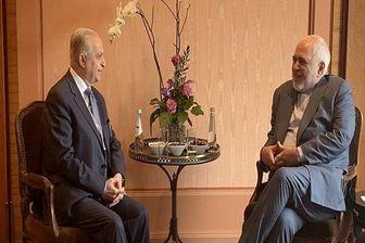 وزیر امور خارجه عراق با ظریف دیدار کرد