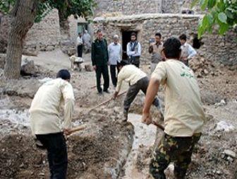جوانه زدن بذر اندیشه جهادی در همت آباد تفت