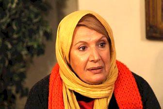 شهین تسلیمی در نمایی از سریال رعدوبرق /عکس