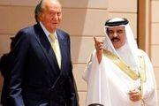 رشوه شاه بحرین به پادشاه قبلی اسپانیا