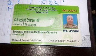 ممنوع الخروجی دیپلمات آمریکایی از پاکستان