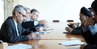 دیدار رحمانی فضلی با وزیر مهاجران افغانستان