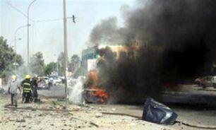 """انفجار خودروی بمبگذاری شده در منطقه """" الصبیحات """" عراق"""