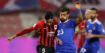 دبل رضاییان در لیگ ستارگان قطر