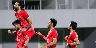 پیروزی تراکتور مقابل شارجه در امارات