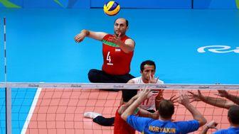 پخش زنده والیبال نشسته ایران - روسیه