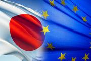 تاکید اتحادیه اروپا و ژاپن بر حمایت از برجام