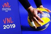 جدول لیگ ملتهای والیبال 2019 پس از برد روسیه
