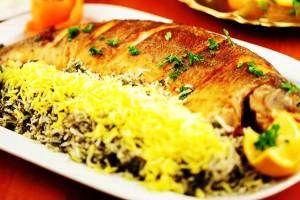 سادهترین روش پخت سبزی پلو با ماهی مخصوص شب عید
