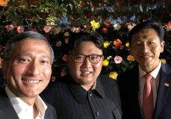 پیادهروی شبانه رهبر کره شمالی پیش از دیدار با ترامپ +عکس