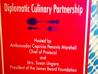 State Department introduces food diplomacy program
