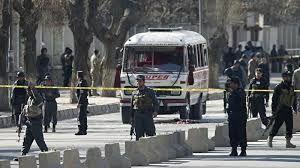 انفجار در مقر کمیسیون انتخاباتی در کابل