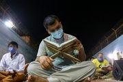 احیای شب قدر در زندان/ گزارش تصویری