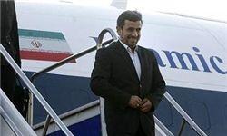 احمدی نژاد به استان گیلان سفر میکند