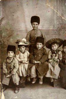 کودکان قجری/ عکس