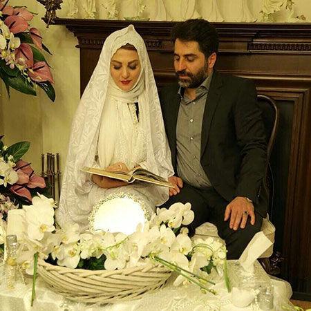 مراسم عقد ژیلا صادقی + عکس