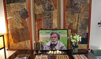 حضور چهره های مشهور در منزل «محمدعلی کشاورز»/ تصاویر
