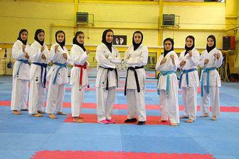 کاراته کاران دختر ایرانی قهرمان شدند