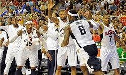 پیروزی مقتدرانه آمریکا مقابل تونس