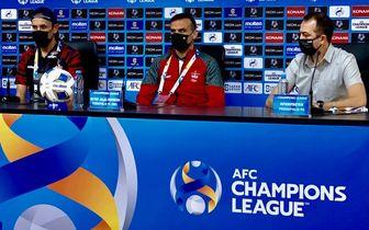واکنش سید جلال حسینی به بازی پرسپولیس و استقلال تاجیکستان