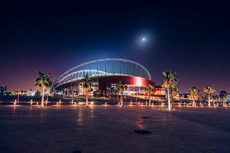 اولین ورزشگاه قطر برای میزبانی جام جهانی+عکس