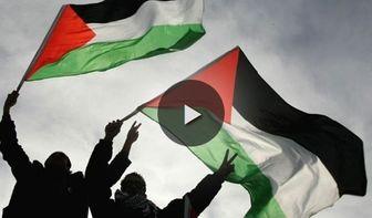 فیلم / نبرد فلسطینیها با داعش در یرموک