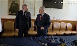 معرکهگیری تبلیغاتی جدید نتانیاهو علیه ایران +عکس