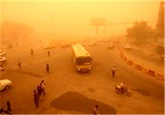 گرد و خاک امروز در جنوب تهران