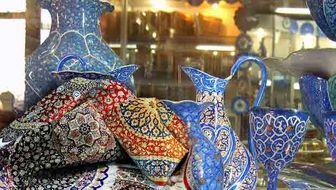 خودنمایی صنایع دستی خارجی در بازار