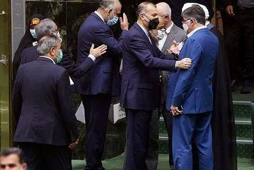 جلسه مجلس شورای اسلامی با حضور وزیر امور خارجه/گزارش تصویری