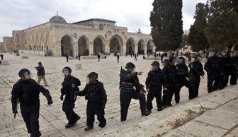 یورش نظامیان صهیونیست به مسجد الاقصی