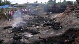 انفجار تانکر سوخت درنیجریه۱۰۰قربانی گرفت